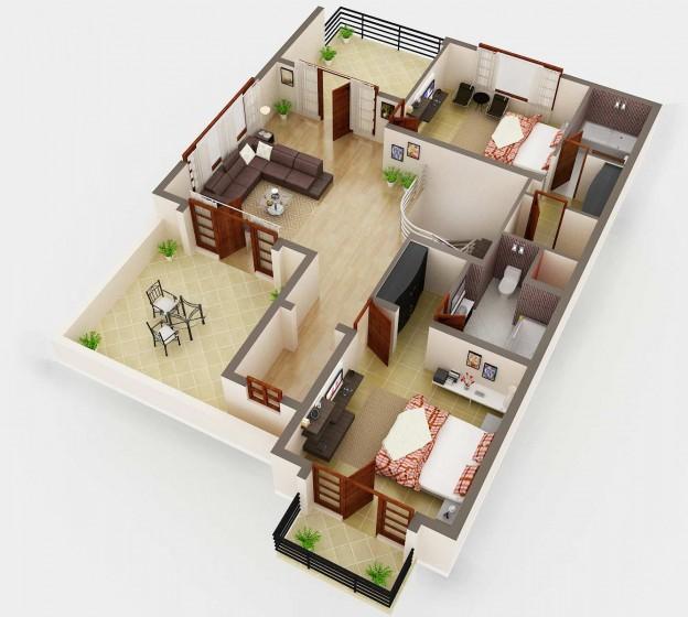 Planos Casas Prefabricadas De Lujo