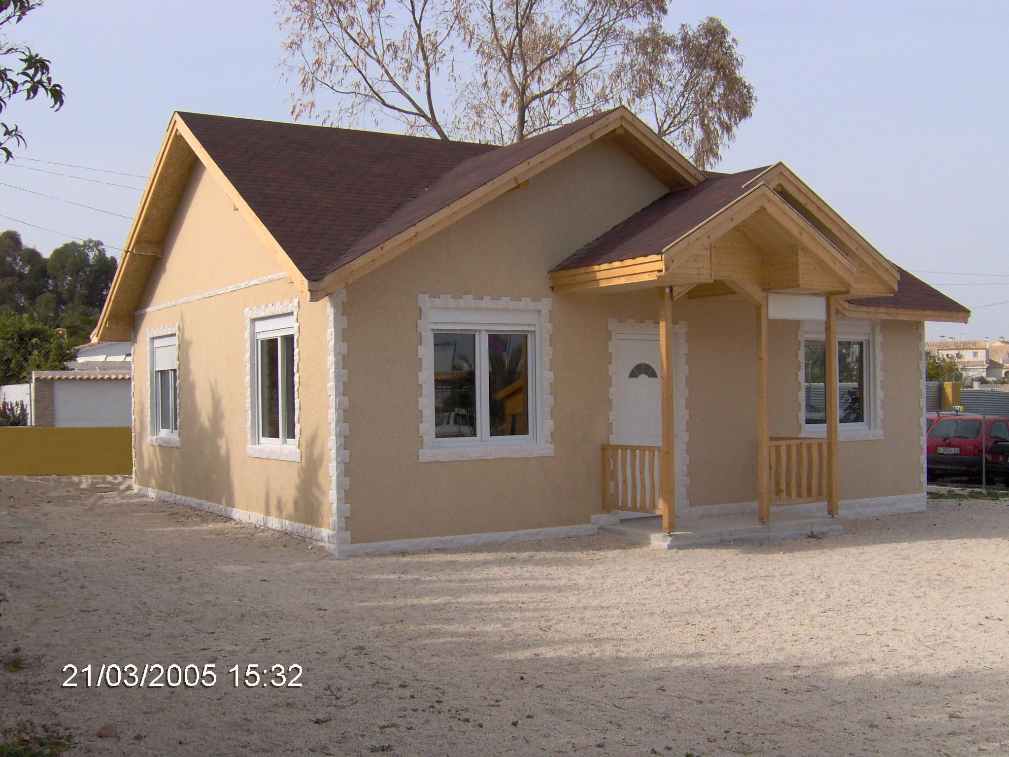 La primera casa en espa a casas prefabricadas de lujo - Casas de madera de lujo en espana ...